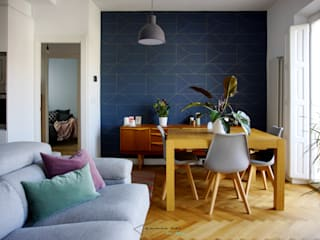 Scandinavian style living room by emmme studio Scandinavian