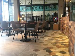 Kahvelen Cafe&Roastery ODBS DESIGN STUDIO Endüstriyel