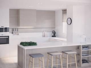 Luxembourg | 90: styl , w kategorii Kuchnia zaprojektowany przez Mohav Design