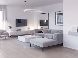Salon- strefa wypoczynkowa: styl , w kategorii Salon zaprojektowany przez Mohav Design