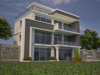 MaTRaKS – Villa: modern tarz Evler