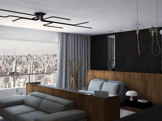Loft 1403 Quartos modernos por Plurale Arquitetura Moderno