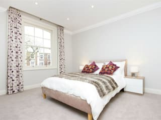 Hammersmith Grove, London, W6 Modern Bedroom by APT Renovation Ltd Modern