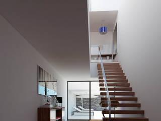 Esboçosigma, Lda Pasillos, vestíbulos y escaleras de estilo minimalista