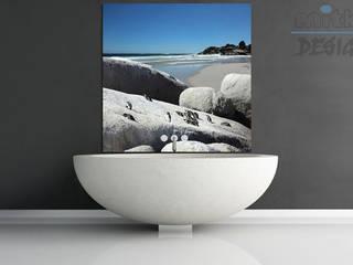 Salle de bain moderne par Mitko Design Moderne