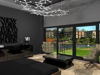 Modern style bedroom by Diseño de Locales Modern