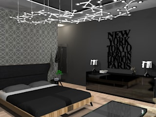Dormitorios de estilo moderno de Diseño de Locales Moderno