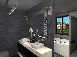 Modern style bathrooms by Diseño de Locales Modern