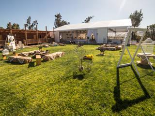 Centro de Eventos Parque Chamonate, Atacama, Chile de SINTESIS arquitecto & asociados Rural
