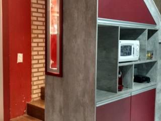 Casa dos Armários Living roomCupboards & sideboards MDF Grey