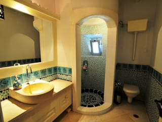 Bathroom by homify, Mediterranean