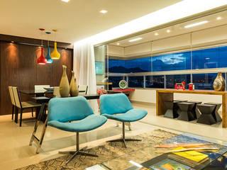 Mímesis Arquitetura e Interiores Living room Multicolored