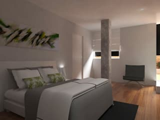Modern style bedroom by PL Architecture Modern