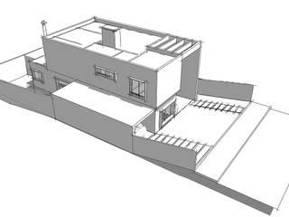 CASA GB: Casas  por PEDRO DRUZIKI JR ARQUITETURA,Moderno