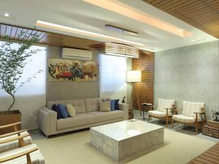Modern living room by Rafael Mirza Arquitetura Modern