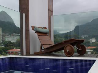 Modern Balkon, Veranda & Teras Rafael Mirza Arquitetura Modern