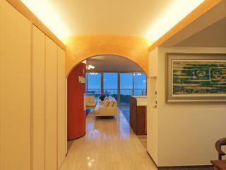 海を臨む家 オリジナルデザインの リビング の 遠野未来建築事務所 / Tono Mirai architects オリジナル