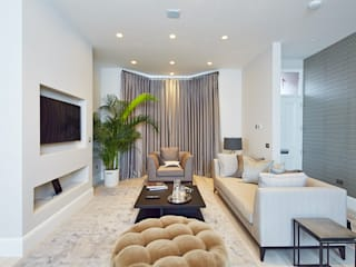 Wolverton Gardens, W6 Modern Living Room by APT Renovation Ltd Modern