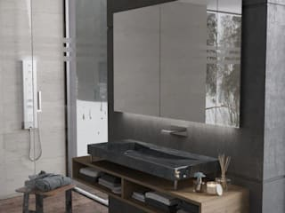 Modern bathroom by SolidART Digital Architecture Modern