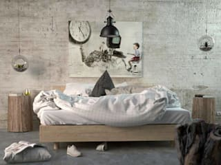 Modern style bedroom by SolidART Digital Architecture Modern
