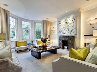Trebovir Road, SW5 Modern Living Room by APT Renovation Ltd Modern
