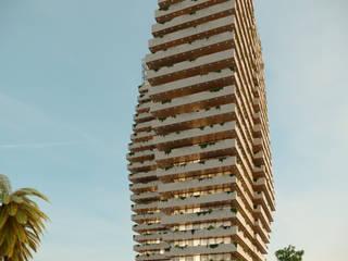 Olympic Towers: Espaços comerciais  por Meireles Arquitectos