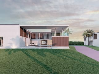 Modern houses by Meireles Arquitectos Modern