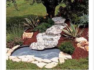 Arrecocemento 花園泳池與池塘