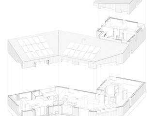 Woonhuis Oosterwold: modern  door studiopops, Modern