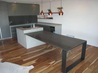 Kitchen Smuts Modern kitchen by Stoneform Concrete Studios Modern