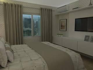 Dormitório Casal:   por Renata Simon Arquitetura e Interiores,Clássico