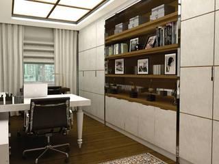 Gabinete:   por Renata Simon Arquitetura e Interiores,Clássico