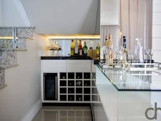 Wine cellar by dm arquitetura e interiores - Dayane e Marina Chemin,