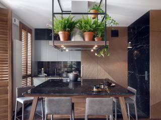 Cocinas de estilo tropical de JT GRUPA Tropical