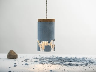 """/"" Slash Pendant Lamp: modern  by NOXU Home, Modern"
