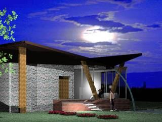 Ecology House :  in stile  di NoiArchitetti_Napoli