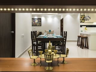 : modern Dining room by Nandita Manwani