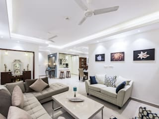 : modern Living room by Nandita Manwani