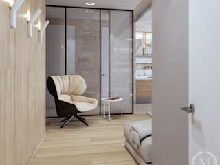Livings de estilo industrial de 'Студия дизайна Марины Кутеповой' Industrial
