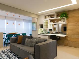 Salones de estilo  de Danyela Corrêa Arquitetura, Moderno