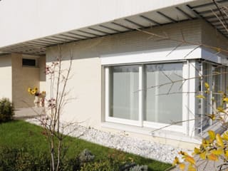 LDA_DM1: l'equilibrio termico verde! Case moderne di Laboratorio di Architettura di Lamon Arch. Luciano Moderno