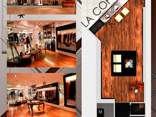 Hornero Arquitectura y Diseño Office spaces & stores Wood