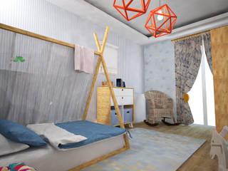 Akın Bebek Odası Akay İç Mimarlık & Tasarım Akdeniz