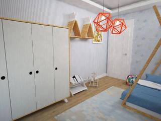 Akay İç Mimarlık & Tasarım – Akın Bebek Odası: modern tarz , Modern