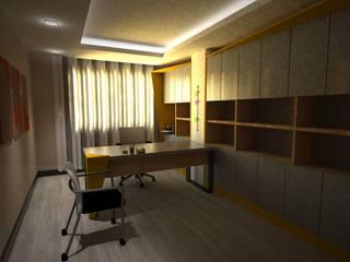Akay İç Mimarlık & Tasarım – M.Balık Ofis: modern tarz Çalışma Odası