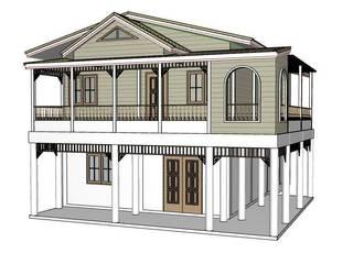 by รับเขียนแบบ ออกแบบบ้าน ภาพ3D