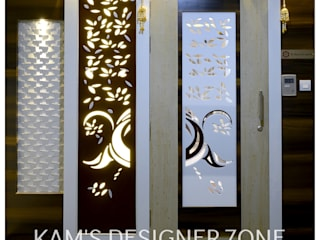 Flat Interior Design for PINKY AGARWAL Classic style houses by KAM'S DESIGNER ZONE Classic