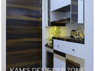 Flat Interior Design for PINKY AGARWAL Classic style walls & floors by KAM'S DESIGNER ZONE Classic