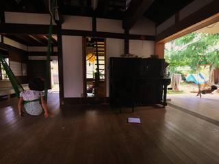 民家の再生: 水野設計室が手掛けた和室です。,