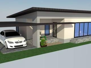 บ้านคุณ อานนท์ โดย รับเขียนแบบ Auto CAD